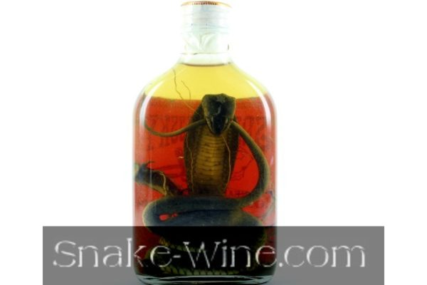 Smallest Snake Liquor Bottle