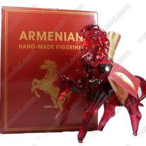 Armenia cognac- horse shape