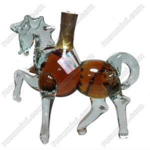 Armenia cognac horse shape