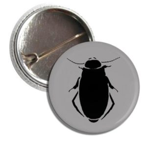 Badge Button I Ate A Water Scorpion