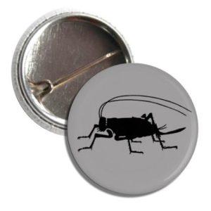 Badge Button I Ate a Cricket
