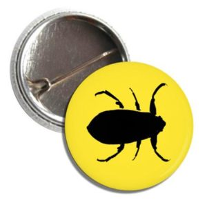 Badge Button I Ate a Diving Beetle