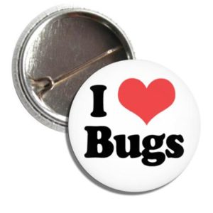 Button I LOVE BUGS
