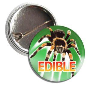 Button TARANTULAS are EDIBLE