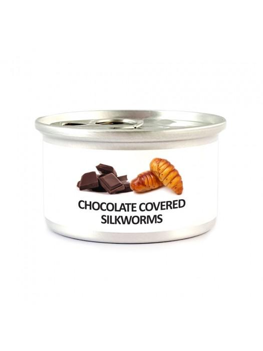 Chocolate Covered Silkworm Pupae