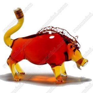 Hennessy VS Wild boar shape