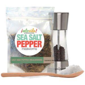 Salt & Pepper Mealworms