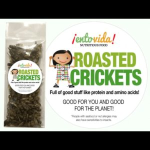 WHOLE ROASTED CRICKETS – CLASS SIZE