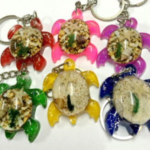 free shipping 12 PCS tortoise totem style MIX LUCITE KEYRING KEYCHAIN TAXIDERMY